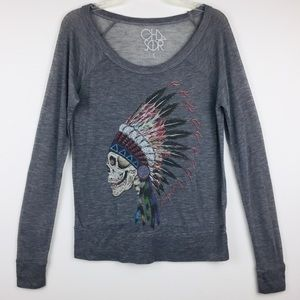 Chaser Grateful Dead Graphic Long Sleeve Tee
